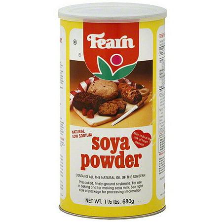 Fearn Soya Powder 24 Oz Pack Of 1 Walmart Com