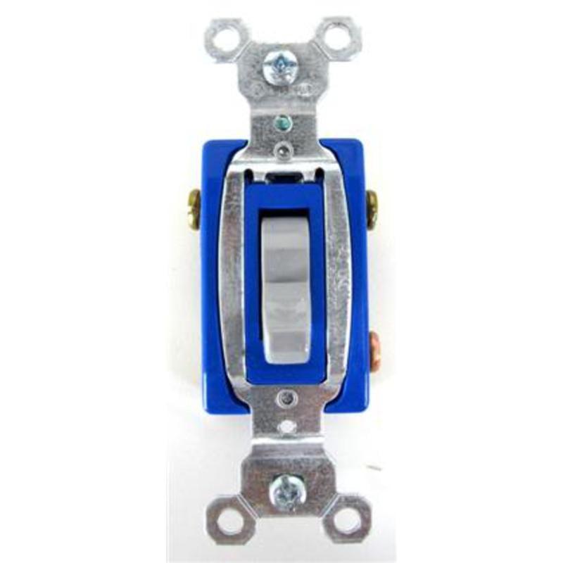 Commercial Light Switch 3 Way 15 Amp120/277 Vac Gray Legrand CS315-GRYCC