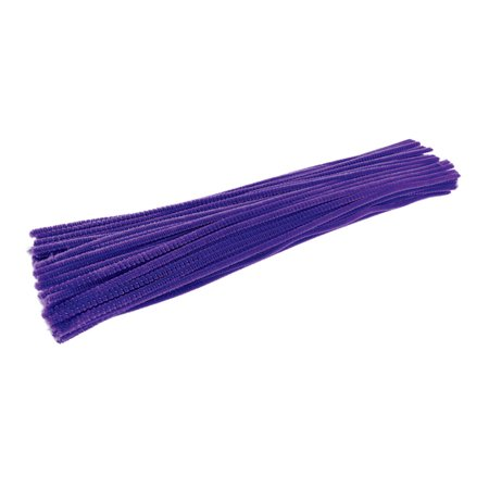 Colorations Pipe Cleaners, Violet - Pack of 100 (Item # IPCVI)