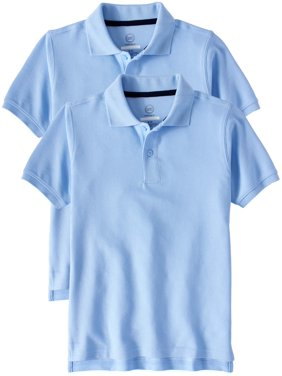 c3f1db93884 Product Image Boys School Uniform Short Sleeve Double Pique Polo