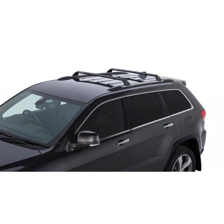 rhino rack 2011 2017 jeep grand cherokee wk2 4dr suv with chrome roof rails vortex roof rack. Black Bedroom Furniture Sets. Home Design Ideas