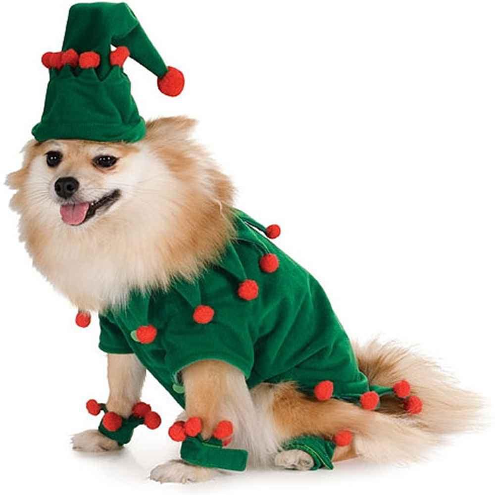 Elf Dog Christmas Pet Costume