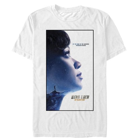 Star Trek Men's Discovery Edge of Universe Poster T-Shirt