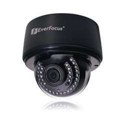 Everfocus Security Cameras - Everfocus EDN3160 Indoor Dome Network Camera for Surveillance Systems