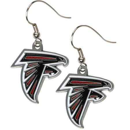 Atlanta Falcons Dangle Earrings - No Size (Atlanta Braves Earring)