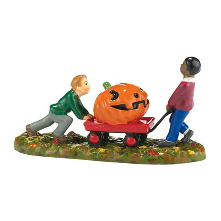 Dept 56 Halloween Village Accessories (Dept 56 Halloween Village Bringing Home The Winner)