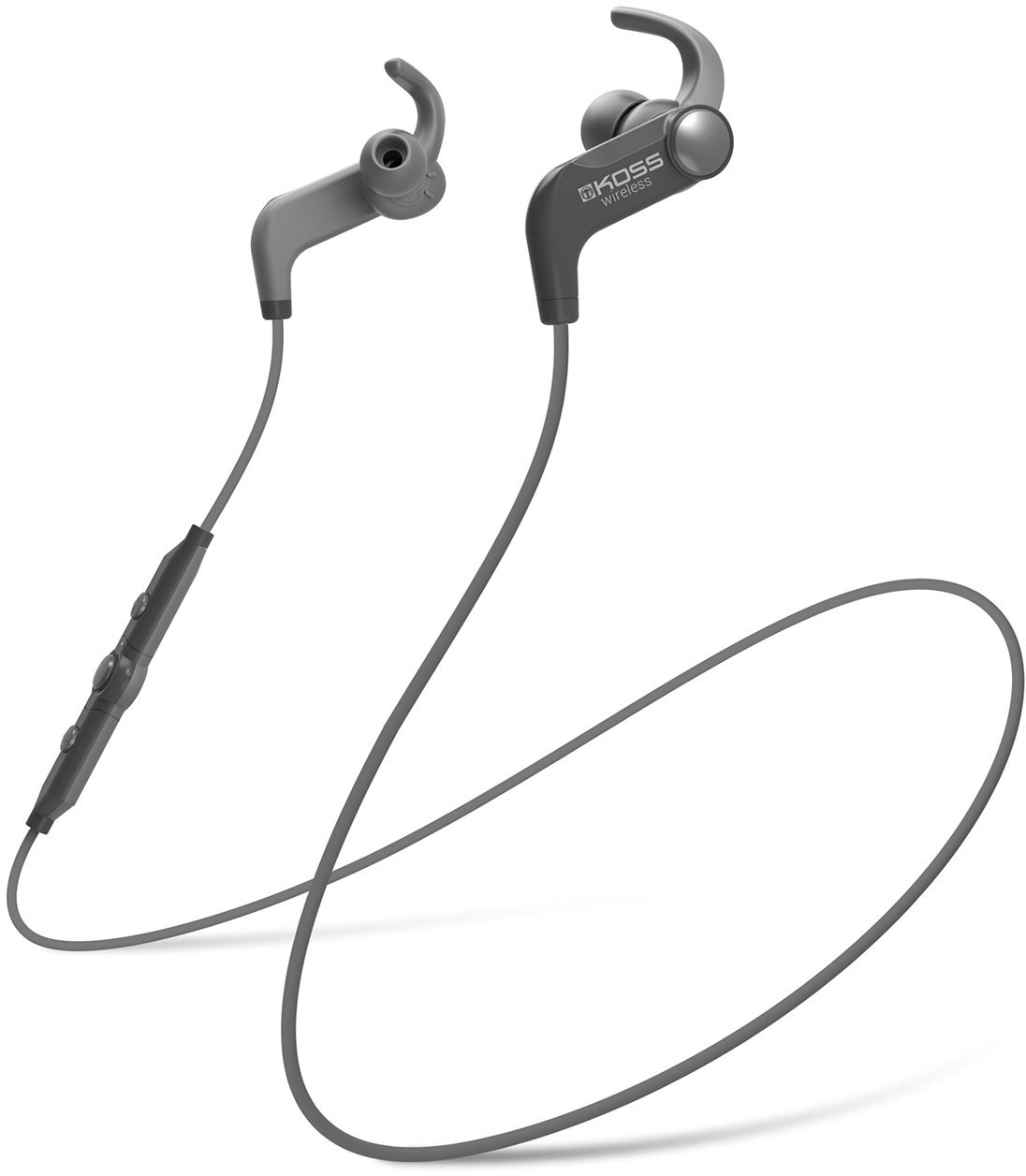 Koss BT190iK Wireless Bluetooth Earbuds, In-line Microphone,Touch Controls-Black by Koss