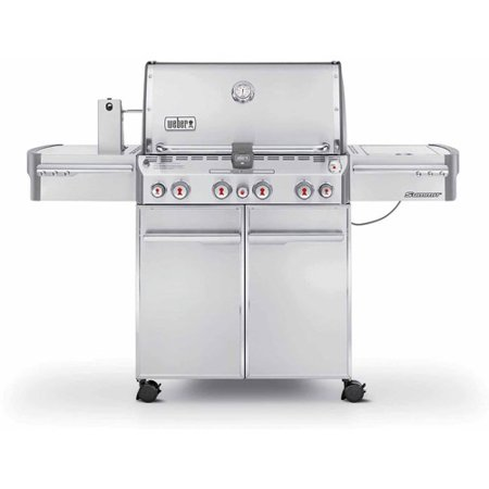 Weber Summit S 470 Lp Gas Grill  Stainless Steel