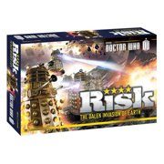 Risk: Doctor Who Edition USAopoly Dalek Armies Invasion of Earth BBC Battle
