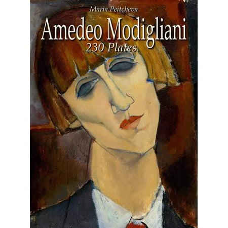 Amedeo Modigliani: 230 Plates -