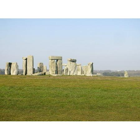 - Canvas Print Stone Henge Stone Wiltshire Stone Circle Stonehenge Stretched Canvas 10 x 14