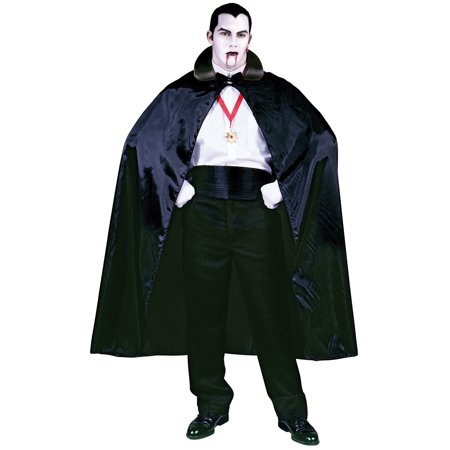 Black Count Cape Adult Halloween Accessory