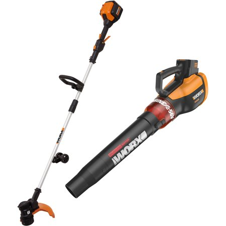 Worx 56V Cordless 2-Piece Combo Kit, Includes WG191 and WG591