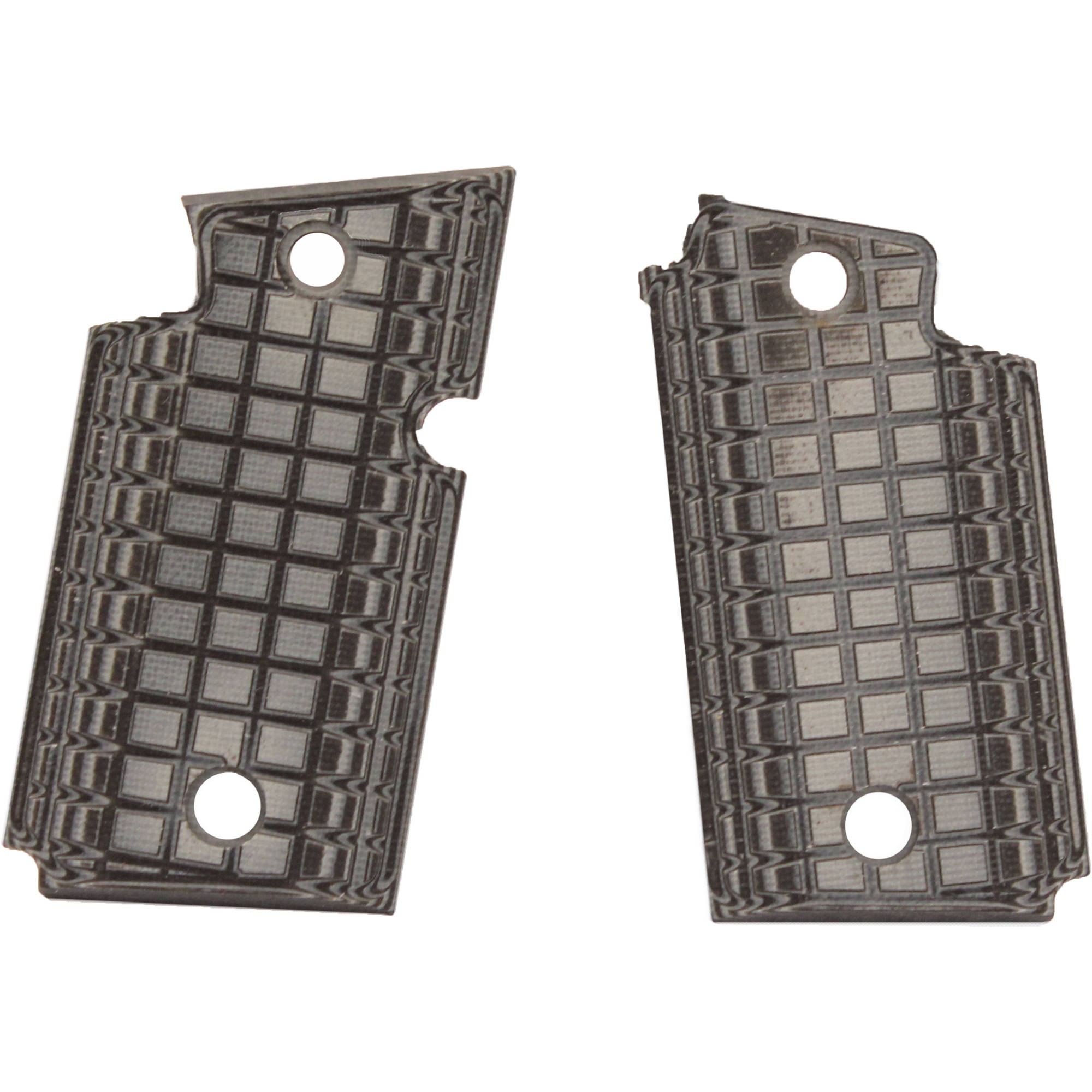 Pachmayr P938 Recoil Pad Coarse, Gray/Black