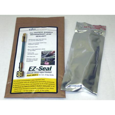 EZ Seal Direct Inject HVAC Refrigerant Leak Sealant for 1.5 thru 5 Ton Units