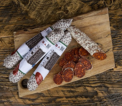 Avalanche Cheese Company Goat & Pork Chorizo 7 Ounce (1 Stick) by