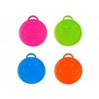 Balloons and Weights 6259 100 gram Heavy Happy Weight Balloon Weights Neon Assortment 10 pc