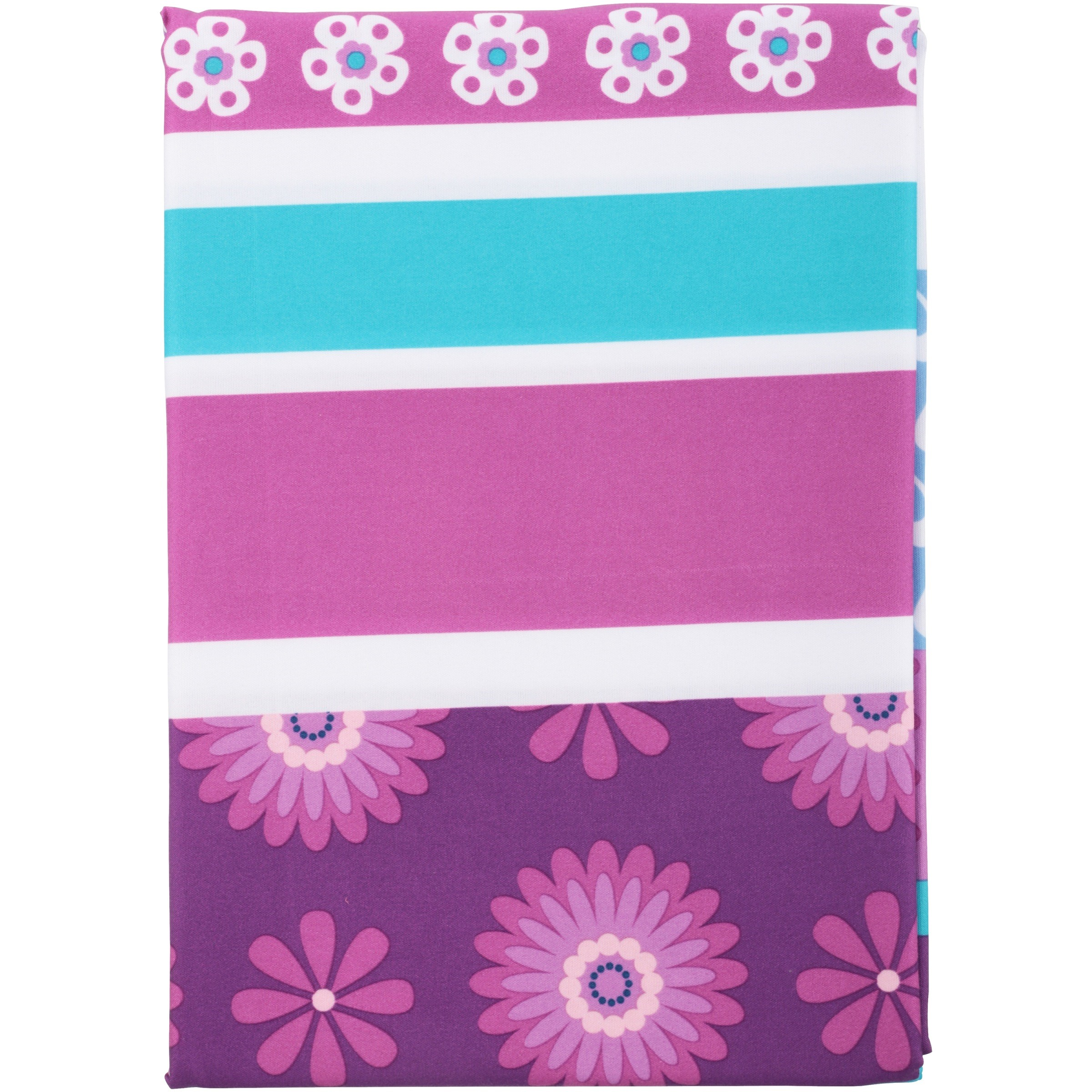 Mainstays Kids Purple Butterfly Fabric Shower Curtain