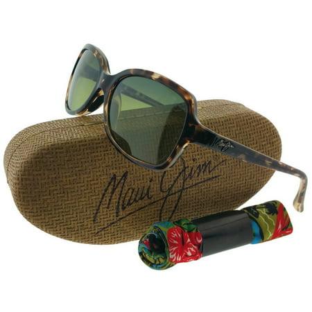 Maui Jim HTS700-10 Cloud Break Tortoise Green Lens 56mm Polarized Sunglasses NIB