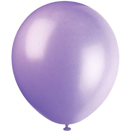Spring Assortment Latex Balloons - Latex Balloons, Spring Lavender, 9in, 20ct, 2-Pack (40 Balloons)