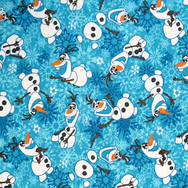 SheetWorld Fitted Cradle Sheet - Olaf