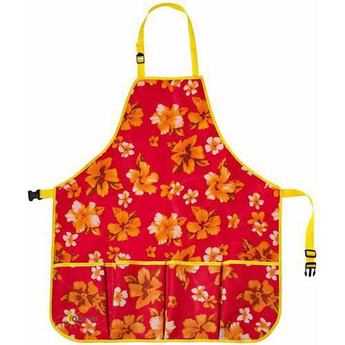 Image of oGrow High-Quality Gardeners Tool Apron with Adjustable Neck and Waist Belts, Large