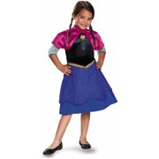 Frozen Traveling Anna Basic Plus Child Dress Up / Halloween Costume