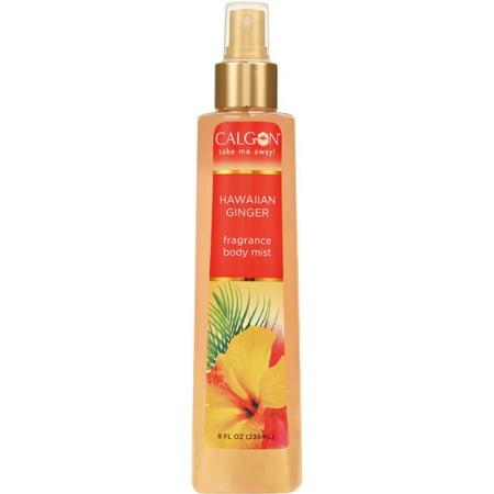 Calgon Hawaiian Ginger Fragrance Body Mist 8 oz