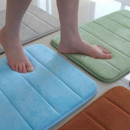 Memory Foam Absorbent Bath Amp Shower Door Mat Soft Floor