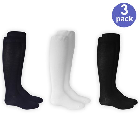 - Knee High Socks, 3 Pairs (Little Girls & Big Girls)