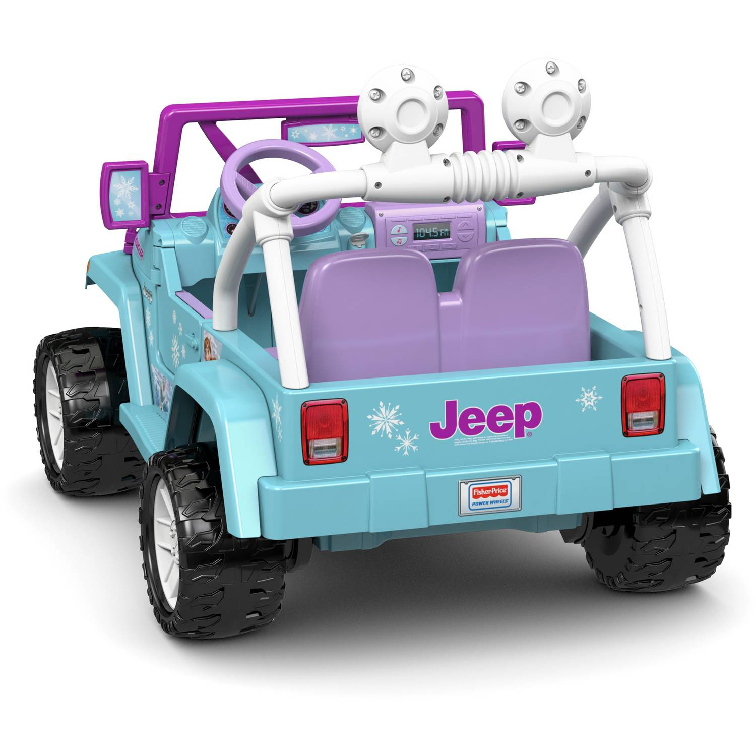 Power Wheels Disney Frozen Jeep Wrangler 12 Volt Battery Powered