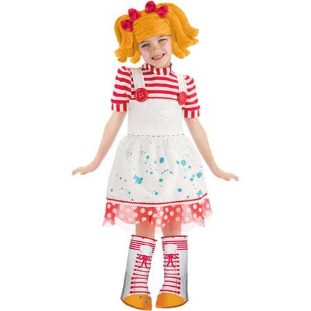Lalaloopsy Spot Splatter Splash Deluxe Child Halloween Costume - Ikea Halloween Spot