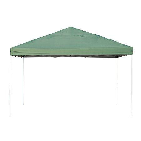 13x13ft Easy up Tent Outdoor Sun Shelter with Carrying Bag Green - image 3 de 7