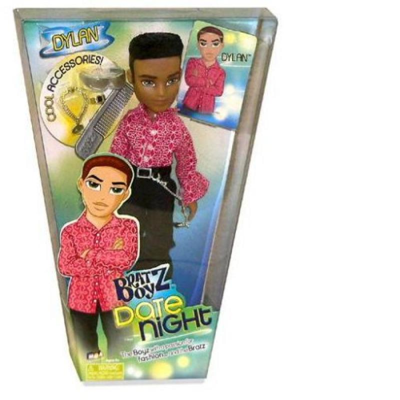 Bratz Boyz Date Night Doll Dylan with Cool Clothes, Rooted Hair, Funky Hairstyle and... by