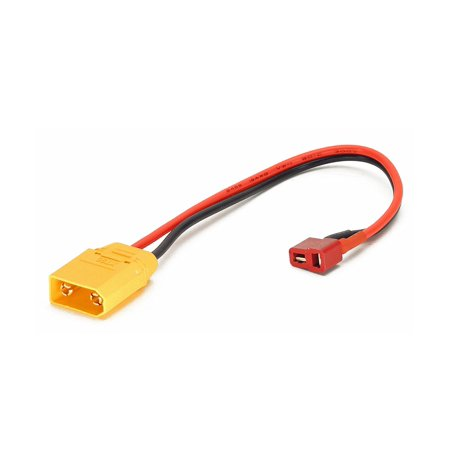 Charger Cable Adapter: Deans T-Plug Female to XT90 Male XT-90 (Wires Cables Leads Plugs LiPo - Wire Male Plug