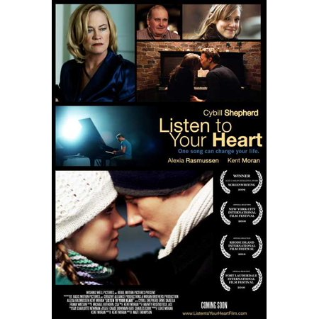 "Listen to Your Heart - movie POSTER (Style A) (11"" x 17"") (2010)"