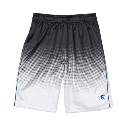 AND1 Boys' Polyester Mesh Hoop 2.0 Basketball Gym & Workout Shorts