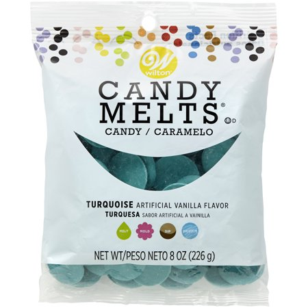 Wilton Turquoise Candy Melts Candy, 8 oz.