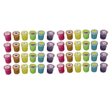 BULK 48 Mini Easter Slime - Perfect for Egg Hunt - Party Favors - Easter Gift - Bulk 4 Dozen (Easter Parties)