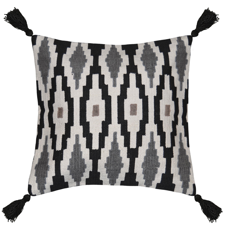 "Better Homes and Gardens Sunrise Diamond Decorative Throw Pillow, 17"" x 17"""