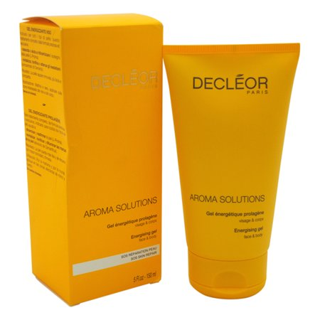 (Aroma Solutions Energising Gel for Face and Body by Decleor for Unisex - 5 oz Gel)