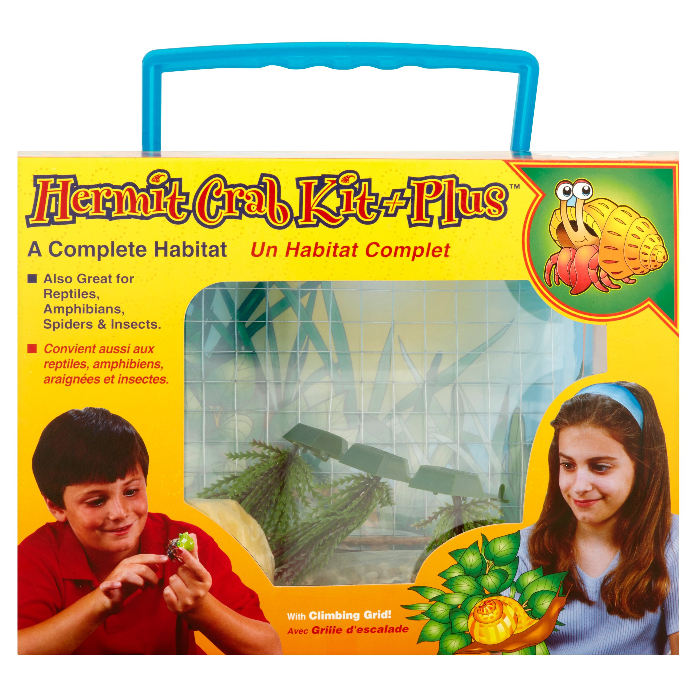 Penn Plax Hermit Crab Starter Kit Plus