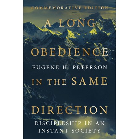 A Long Obedience in the Same Direction - eBook (The Same Direction Bag)