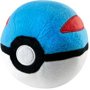 Pokemon Great Ball Pokeball Plush