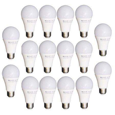 16 Pack LED Light Bulbs Dimmable 40W Equiv Soft White A19 Energy Efficient