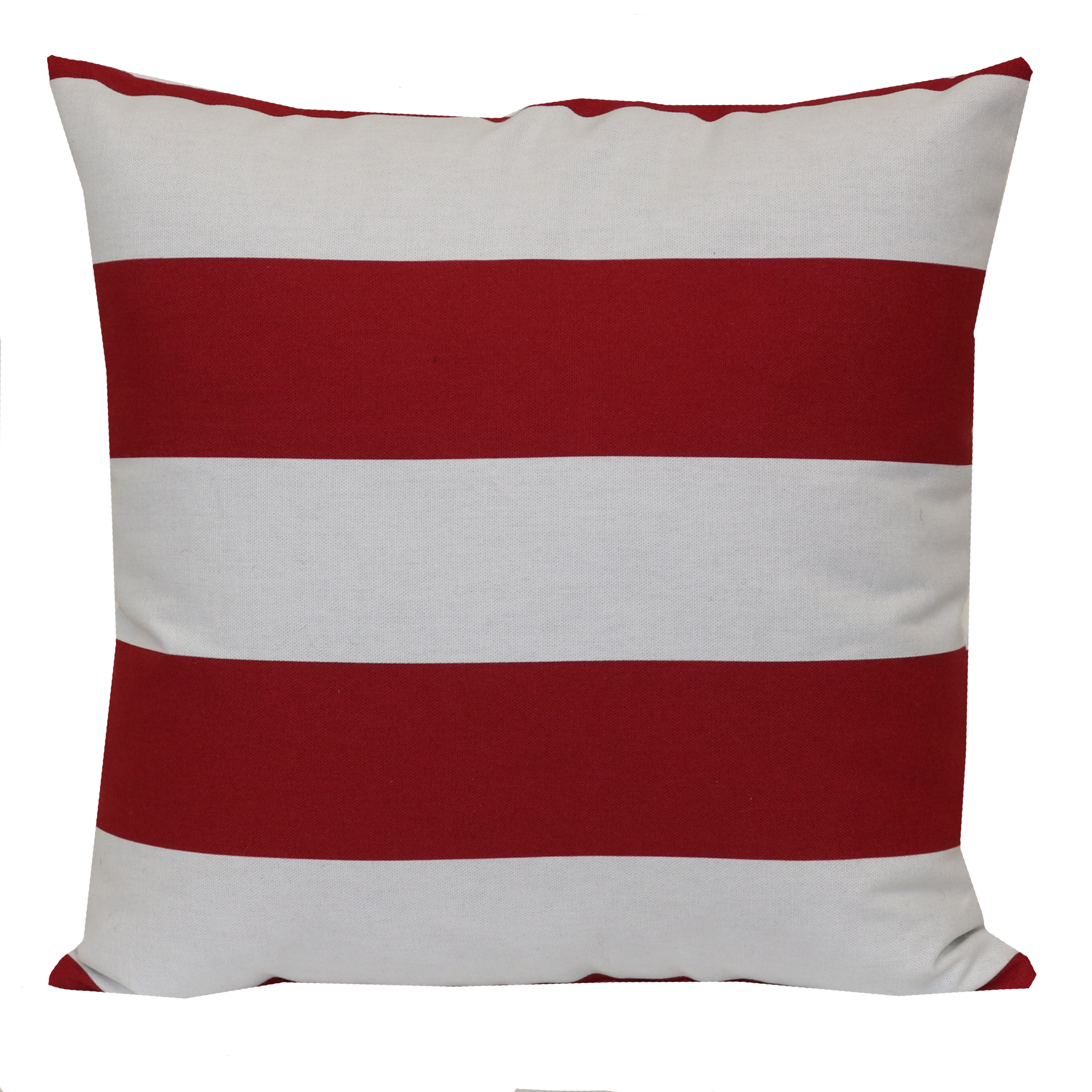 Mainstays Outdoor Pillow Balboa Red Stripe