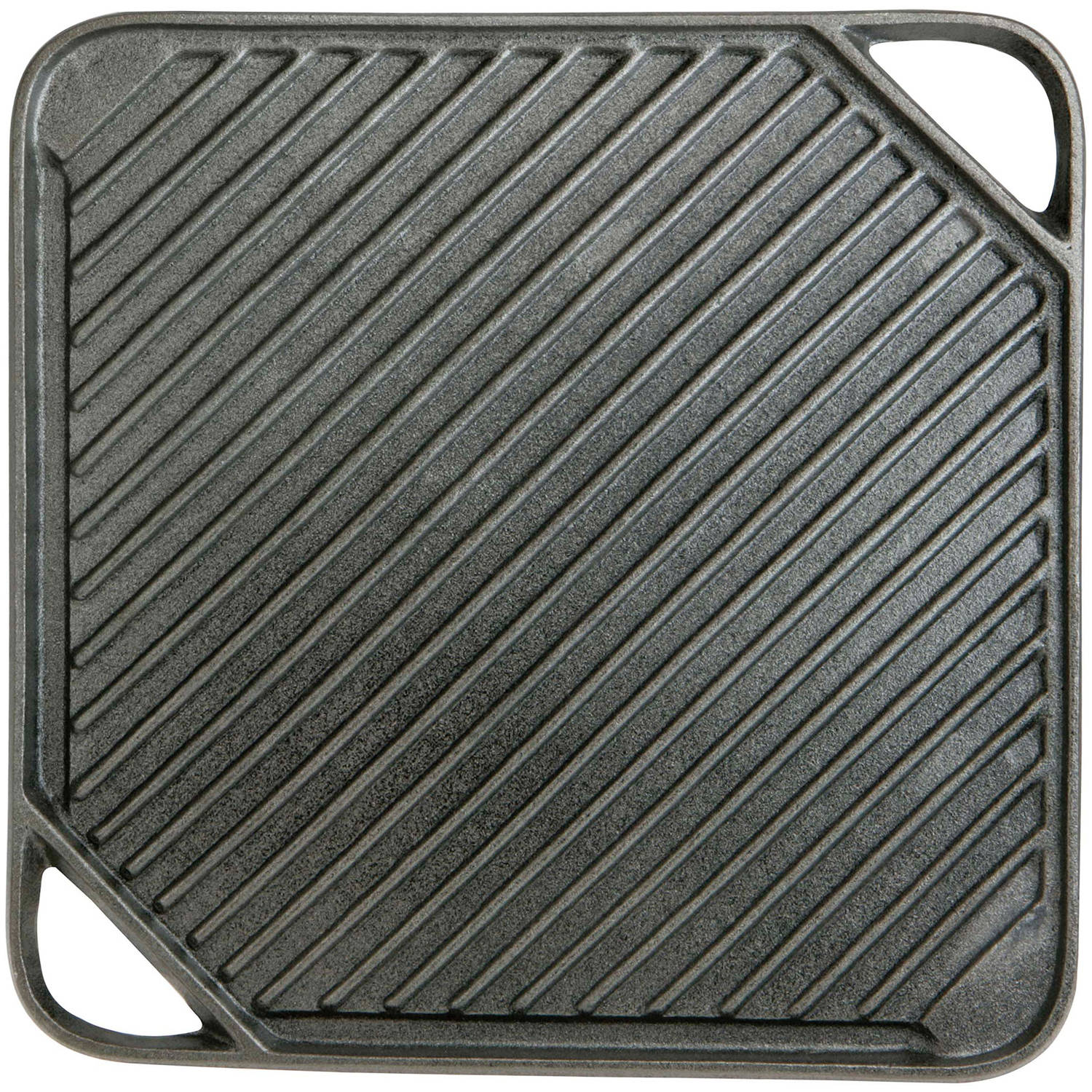 Mr. Bar-B-Q Reversible Cast Iron Griddle, Small