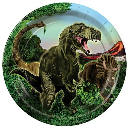 Dinosaur Adventure Dinner Plates - Dinosaur Plates