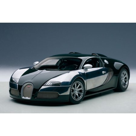 Bugatti EB Veyron L'Edition Centenaire Racing Green Malcolm Campbell 1/18 Diecast Model Car by (Bugatti Veyron Super Sport Price In Pounds)
