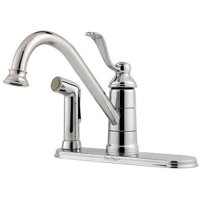 Pfister Treviso Kitchen Faucet with Sidespray, Available in Various Colors